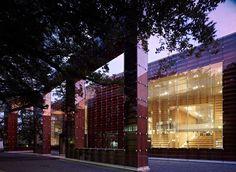 Musashino Art University Museum & Library / Sou Fujimoto #glass #wood