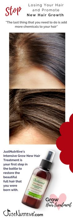 Hair loss can be caused by many factors including misuse of chemical hair products, hormonal changes, stress, medications, and even the method that you style your hair. These are a few of the reasons that your hair loss may be temporary and growing your h Natural Hair Care, Natural Hair Styles, Natural Skin, New Hair Growth, Full Hair, Hair Remedies, Hair Health, Grow Hair, Hair Growing