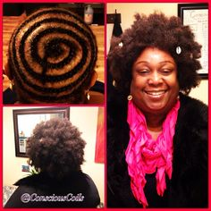 Style: Tree Braids/Crochet Braids   Client's Hair Type: 3b/c   Hair Added: Urban Beauty, Beauti Collection- Natural Look. Afro Kinky Bulk (1.2 bags)   Products Used: Coiled! by Conscious Coils (Extra Moisture Spray)   Time: 1hr 20mins (includes time removing braids)   Style Duration: 2-4weeks