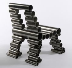 Osian Batyka-Williams' Reclaimed Metal Tube Chairs