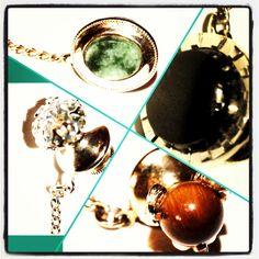 #vintage #vintageaccessories #accessories #ties #neckties #tietacs #tietacks #stones #bling #emeralds #pearls #instastyle #mensstyle #instacollage. Only at: http://www.greatnecktie.com/products-page/tie-tacks/