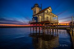"FIFTH PLACE Image by Jeff Knox, ""Roanoke River Lighthouse, Edenton, North Carolina"" 