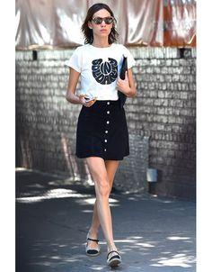 Alexa Chung dans les rues de New York