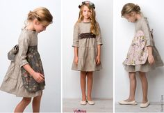 cute dresses from Sainte Claire Young Fashion, Tween Fashion, Fashion Outfits, Little Girl Dresses, Girls Dresses, Stylish Kids, Kid Styles, Baby Dress, Kids Outfits