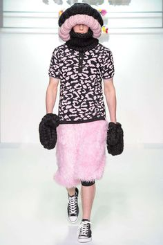 Exaggerated Cotton Candy Knitwear : Sibling Fall/Winter 2013