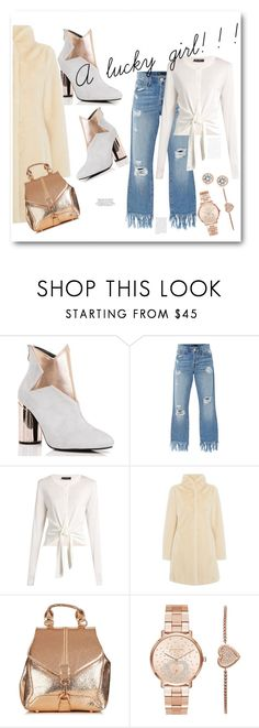 """""""A lucky girl!"""" by bv-b ❤ liked on Polyvore featuring Cape Robbin, 3x1, Dolce&Gabbana, Episode, Michael Kors and ASOS"""