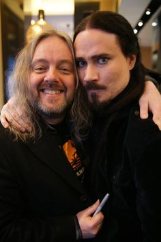 Tuomas and Troy - Nightwish (Endless Forms Most Beautiful Release Party/Soundi)