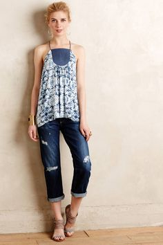 Tomboy Crop Jeans by AG Denim #anthrofave #anthropologie