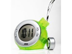 These little clocks run solely on H2O, helping to reduce our carbon footprint on the planet.