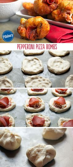 Go all out on Game Day with these Pepperoni Pizza Bombs. Fry your favorite pizza toppings in delicious dough for an ultimate taste experience you have the try to believe! They come in easy, bite-size servings for if you have guests and need a fun snack.