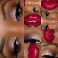Romantic red and neutral