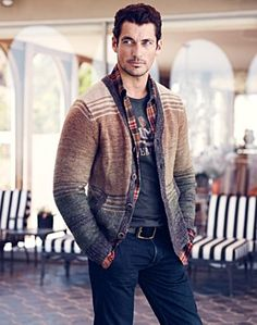 Textured Stripe Cardigan - Sweaters - Lucky Brand Jeans
