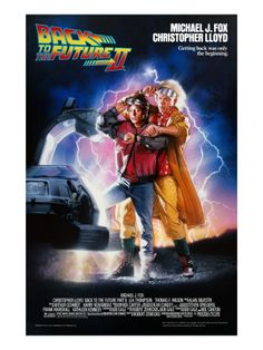 Back to the Future Part II(1989)邦題・・バック・トゥ・ザ・フューチャー PART2