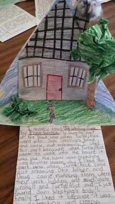 Triorama LIterature Response: Setting The Teacher's Desk 6...: Wordless Wednesday: Responding to a Novel