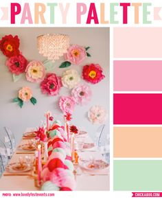 Paper Garland Diy Kit Gold And Pink Circles Baby Girl