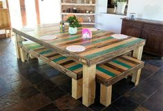 Giving new life to the repurposed wood pallets is not only great because the thing that can't be used for any purpose can be turned into an amazing product that inspire those who look it. Wood pallets can be used for making the furniture for placing inside as well as outside the home, the patio
