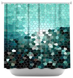 Patternization V Shower Curtain - contemporary - shower curtains - Dianoche Designs