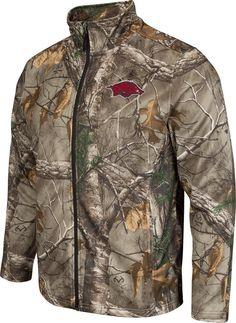 Realtree Full Zip Arkansas Razorback Performance Jacket