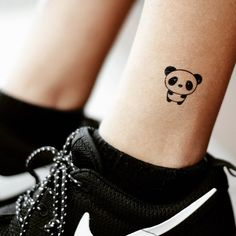 panda tattoo ❤ liked on Polyvore featuring accessories and body art