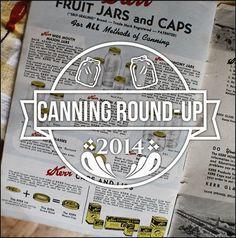 Canning round-up 2014 - Cupcake Rehab dot com