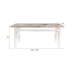 Crude Dining Table