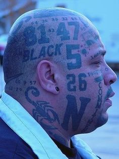 Bad Tattoos: 16 More of the Funny & Worst! Tattoos Gone Wrong, Awful Tattoos, Bad Tattoos, Funny Tattoos, Cool Tattoos, Worst Tattoos, Tattos, Really Ugly People, Crazy People