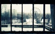 チェルノブイリ原発事故によるゴーストタウン ─ウクライナ、プリピャチ pic.twitter.com/m3lNmDfTlb