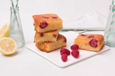 Petits plaisirs coupables: Brownies citron-framboise