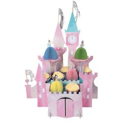 Disney Princess Castle Centerpiece-0