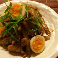 麺つゆで簡単☆鶏肉とごぼうのうま煮♡マヨがキメテ
