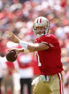 Alex Smith - SF 49ers -  Missed the only one football game that my husband coached because his (pregnant) mom couldn't travel.