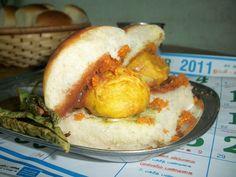 Mumbai Vada Pav / Wada Pav / Vada Pao / Batata Vada / Indian Burger Stuffed with Fried Potato Balls / How to make Potato Bondas  - Chat Recipes