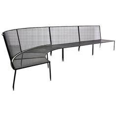 Rare Mathieu Mategot Sofa, circa 1950 | From a unique collection of antique and modern sofas at https://www.1stdibs.com/furniture/seating/sofas/