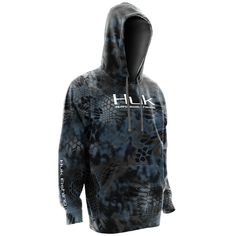 Huk Men's Kryptek Performance Fishing Hoodie, H1300008 (Multiple Color Options) - Swanson's General Store
