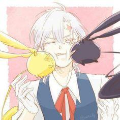 Image de allen walker, d gray man, and dgm Anime Couples Manga, Cute Anime Couples, Anime Guys, Fan Anime, Anime Art, D Gray Man Allen, Allen Walker, Natsume Yuujinchou, Manga Illustration