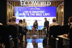 Q&A session  Epoch Inspired Talks - CSR in Singapore: What's the Next Lap?  Date: 3rd Nov, 2016  Venue: EcoWorld Gallery