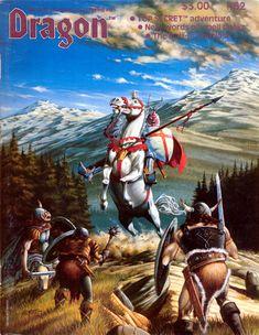 Dragon Magazine #62 (June 1982)