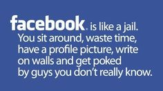Ha! And why I deleted my profile last night:) ok all but the poking!