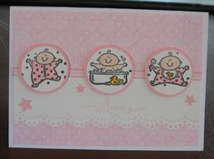 Welcome baby by Taylor-made - Cards and Paper Crafts at Splitcoaststampers