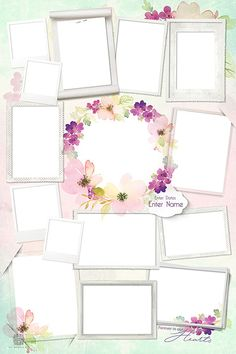 Shop our range of beautifully crafted XO Memories Memorial Photo Collage Templates Photo Collage Design, Photo Collage Template, Pink Glitter Background, Photo Restoration, Instagram Frame, Frame Wreath, Diy Arts And Crafts, Memories, Creative