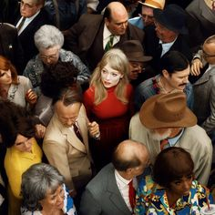 View Crowd 2 Emma by Alex Prager on artnet. Browse upcoming and past auction lots by Alex Prager. Popular Photography, People Photography, Street Photography, Portrait Photography, Creative Photography, Fashion Photography, Cinematic Photography, Group Photography, Conceptual Photography