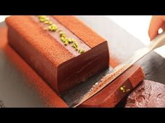 How to make rich terrine chocolat Terrine Chocolat Chocolates, Asian Desserts, Just Desserts, Chocolate Terrine, Cake Recipes, Dessert Recipes, Caramel Pudding, Japanese Cake, Mousse Cake