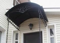 Image result for canopy for exterior staircase