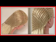 TWISTED WATERFALL BRAID HAIRSTYLE / HairGlamour Styles / Hairstyles - YouTube