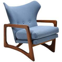 Adrian Pearsall Wingback Lounge Chair by Craft Associates 1