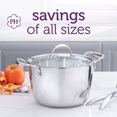 Big or small, enjoy #savings on all! Whether you're #cooking for a couple or a whole crowd, shop specials on #cookware and tools of that will help you master any #meal. Ends June 18th, 2021!