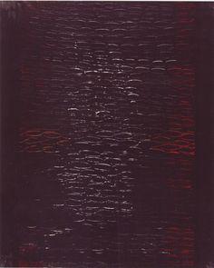 Gastone Biggi - Ayron 79 nera - industrial paint su tela - 100x70 cm - 2007