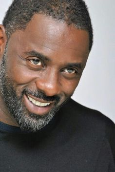 Idris Elba, have enjoyed this actor in all the roles. Such expressive eyes. You forget that he's acting . Idris Elba, Gorgeous Black Men, Beautiful Men, Ricki Martin, Short Beard, Handsome Actors, We Are The World, Raining Men, Good Looking Men