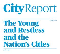 Young and Restless | City Observatory
