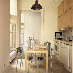 Une cuisine étroite et longue - Marie Claire Maison